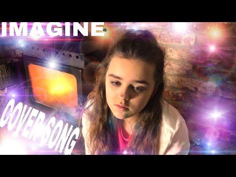 IMAGINE JOHN LENNON | KIDS COVER SONGS | MUSIC VIDEO | SINGING BY YOUNG GIRL FEMALE SINGER NEW 2016