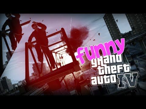 FUNNY MOMENTS - Grand Theft Auto 4 w/ Masterczułek