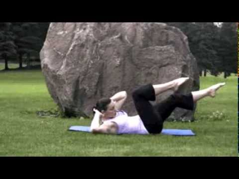 Fly Girl Fitness 5 min. Pilates Ab Workout