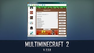 MultiMinecraft 2.3.8 Utiliza Varias Carpetas .minecraft