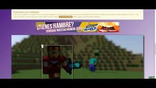 Minecraft Como Hacer Imagenes Animadas De Tu SKIN!!! O