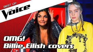 TOP 10 | BILLIE EILISH SONGS in The Voice