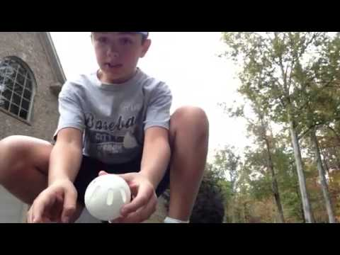 Beginner wiffle ball pitches