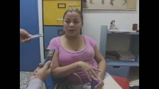 "Entrevista A Raquel Doña Esposa Del ""Chocolatito"""