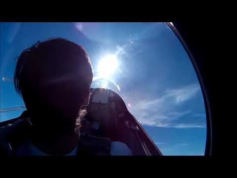 First Aerobatic flight in MDM-1 FOX