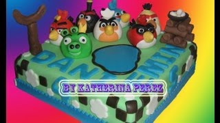 Angry Birds Torta (Angry Birds Cake)