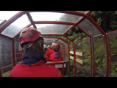 zip world bounce below north wales