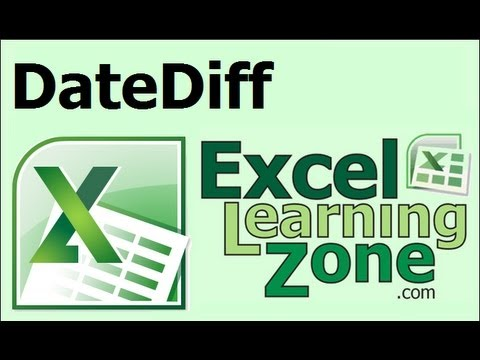 Microsoft Excel Calculate the Difference Between Two Dates and DATEDIF Function