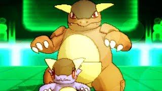 Pokemon X And Y Wi-Fi Battle Mega Kangaskhan Sweep