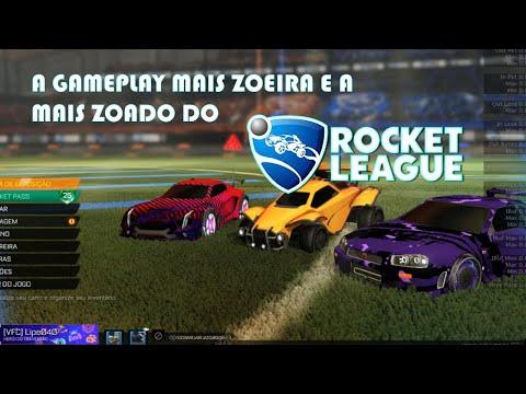 A GAMEPLAY MAIS ZOEIRA E A MAIS ZOADA rocket league