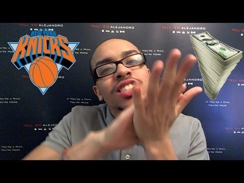 TEA: TOUGH TOPICS Pt 2 NY Knicks ATROCIOUS! Carmelo TRADE RUMORS, Woodson FIRED? Blame James Dolan!