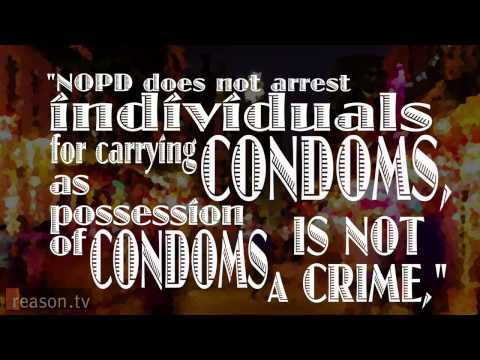 Police Policy Anyone With A Condom Is A Prostitute