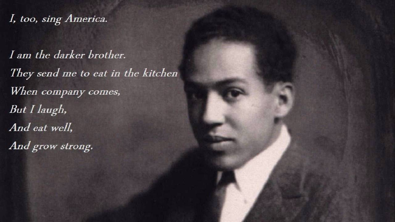 commentary too sing america langston hughes Technical analysis of i, too, sing america literary devices and the technique of  langston hughes.