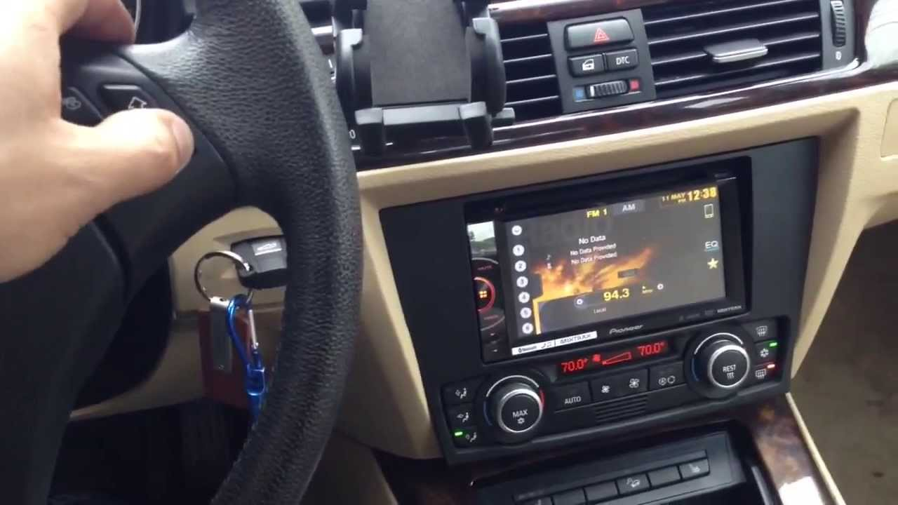 Bmw 3 Series Double Din Radio Install Youtube