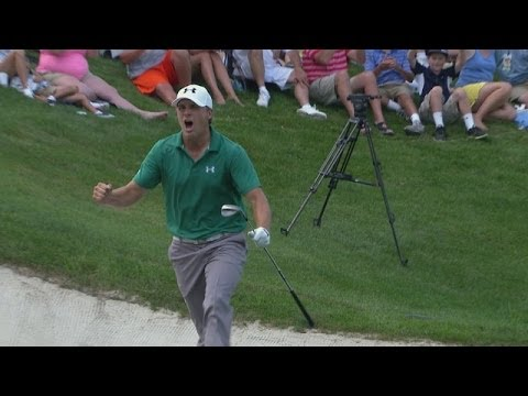 Top 10 hole outs on the PGA TOUR in 2013