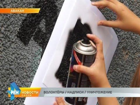 ВОЛОНТЁРЫ / НАДПИСИ / УНИЧТОЖЕНИЕ