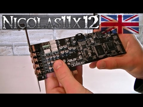 ASUS Xonar DX 7.1 PCI Express Sound Card Review