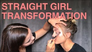TOMBOY TO GIRLY MAKEOVER