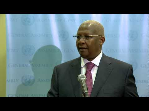 Hon Sam K Kutesa, UNGA President Elect Press Briefing