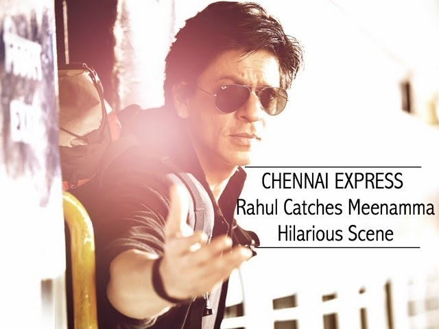 Chennai Express I SRK relives DDLJ with Deepika I Movie Scene