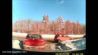 Подборка ДТП с видеорегистраторов 75 \ Car Crash compilation 75