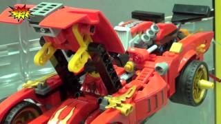 LEGO Ninjago X-1 Ninja Charger 70727 2014 NY Toy Fair