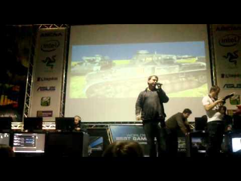 Видео презентации игры в Киеве 11.02.11