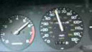 Разгон Honda Accord с двигателем A20A от 0-100 км/ч