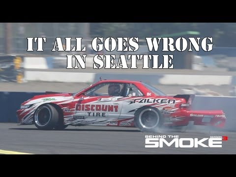 It All Goes Wrong In Seattle - Formula Drift Rd 5 - Daijiro Yoshihara