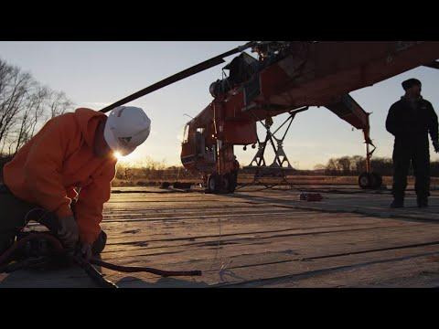 Erickson Monopole Transmission Tower Construction