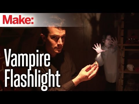 Give Dead Batteries Another Life with the VampireFlashlight