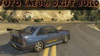 Grand Theft Auto 5 Futo (AE86) Drift Build