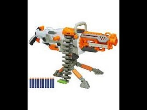 New nerf guns for winter 2014 and spring 2014 - YouTube