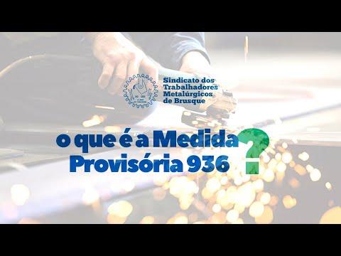 O QUE É A MP 936