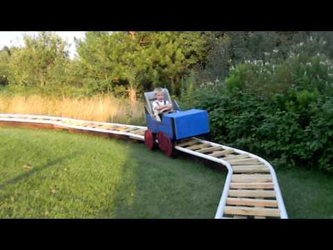 Thomas backyard Coaster