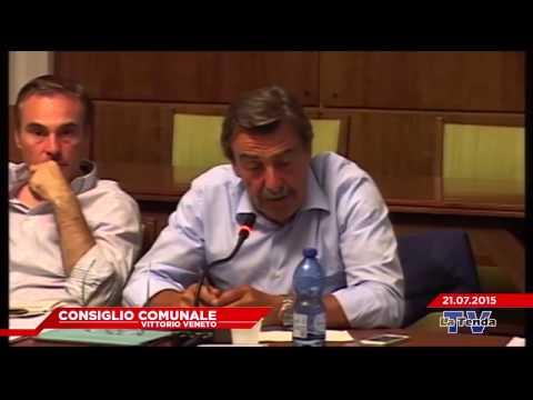 CONSIGLIO COMUNALE VITTORIO VENETO - Seduta del 21.07.2015