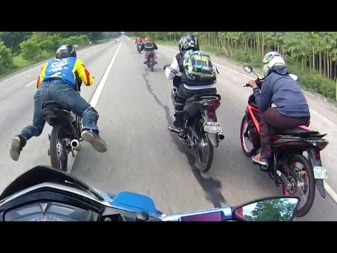 Buko Halo Ride with Honda XRM Yamaha Sniper 135LC SEXC with Suzuki Belang Raider Alex P.