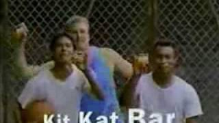 Kit-Kat Candy Bar Commercial 1980's