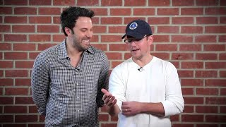 Matt Damon Makes Fun of Ben Affleck for Gigli
