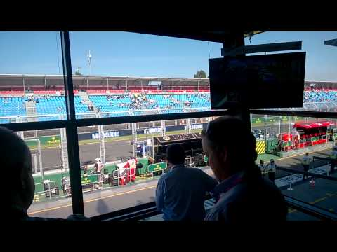 View from the Formula One Paddock Club, Lotus Suite