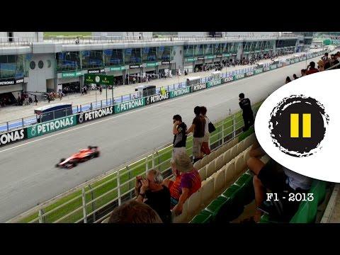 F1 2013 & 2014 Sound Compared - Malaysia