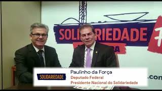 Deputado federal Paulinho da Força apoia Sarutaiá com recursos