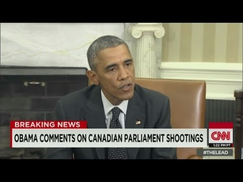 Obama: We stand side-by-side with Canada
