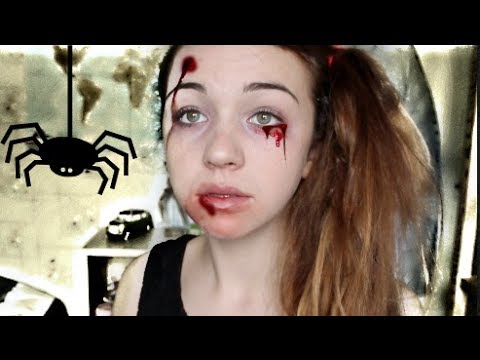 Maquillage Halloween Rapide Simple Conomique Youtube