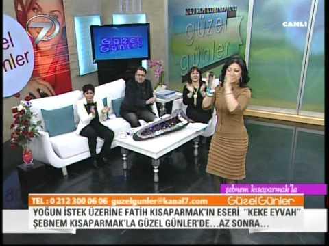 Seyhan Güler Türkülerin Sultanı Tokat Sarmasıyla Kanal7 Ekranlar