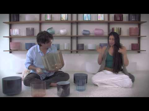 Crystal Sonic Healing and Sound Therapy with Andrew Clark and Paloma