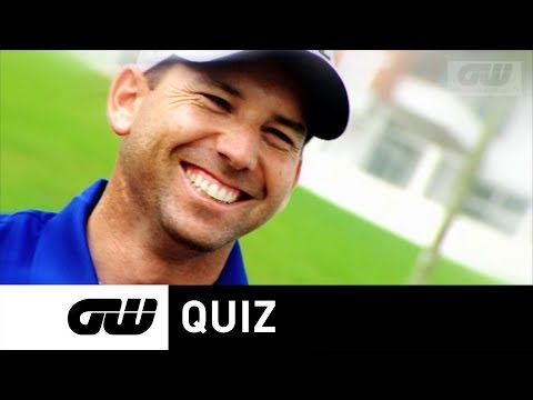 GW Quiz: with Sergio Garcia