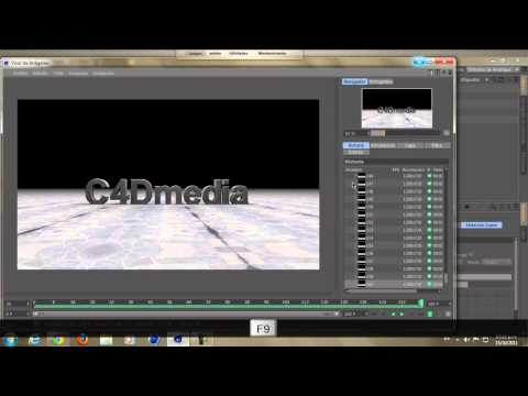Tutorial intro |  mas plantilla gratis |  Cinema 4D  After effects.
