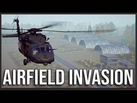 WE PERFECTLY EXECUTED THIS AIRFIELD ATTACK IN SQUAD!