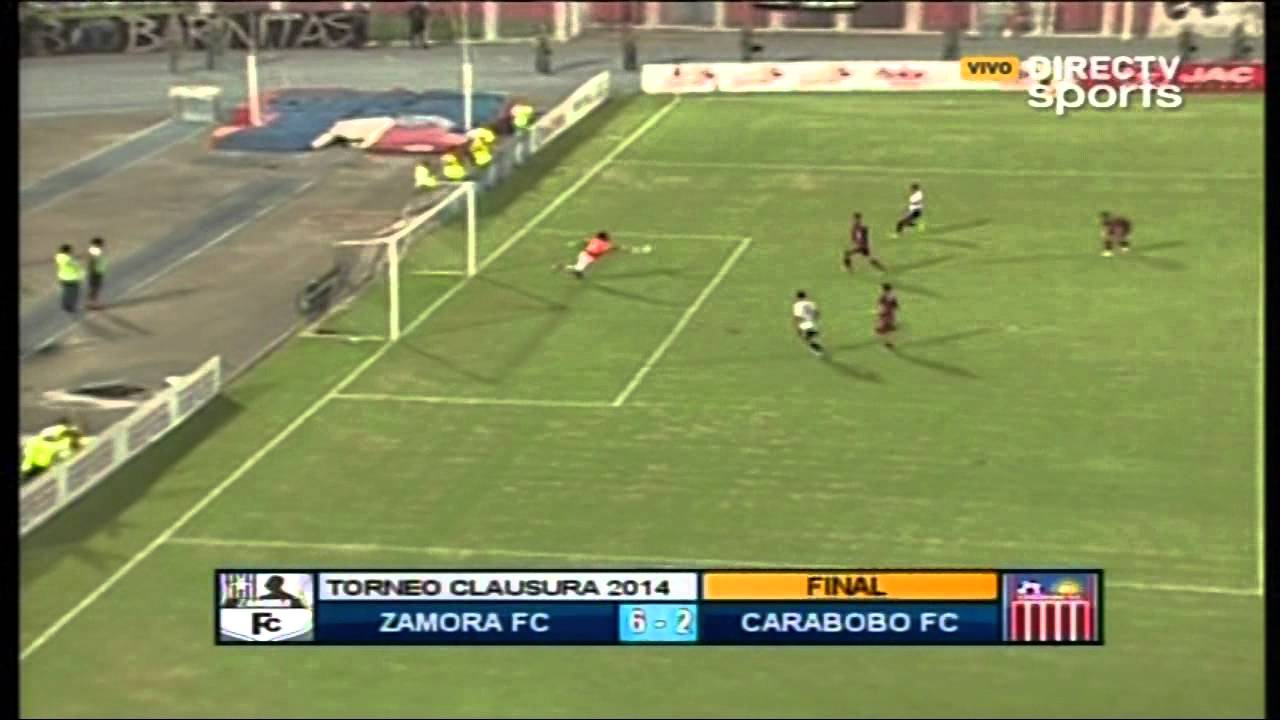 Zamora Barinas 6-2 Carabobo FC